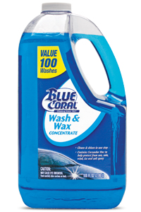Blue Coral Car Care Products